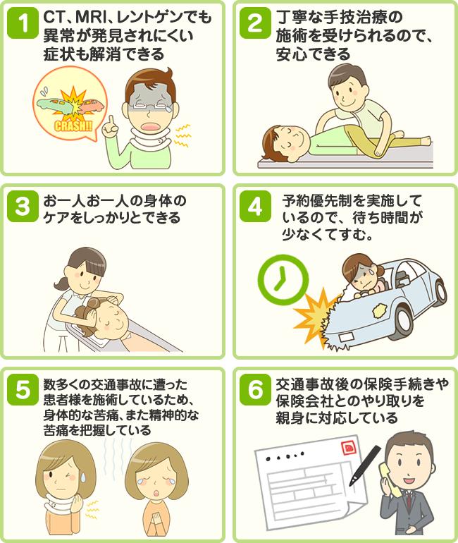 整骨院の交通事故治療