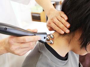 深谷市の交通事故 むち打ち・首の痛み治療法写真