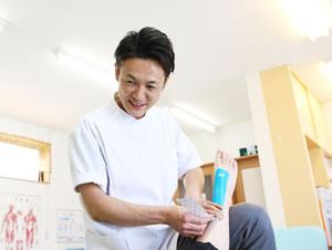 捻挫・打撲の治療写真
