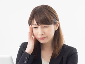 交通事故による頭痛・めまい・吐き気の写真