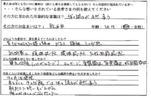 熊谷市 30代 男性 腰の痛みの口コミ